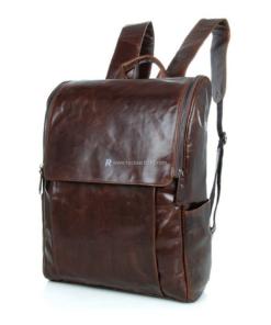 Leather Large Capacity Rucksack