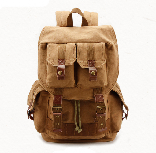 Canvas DSLR Camera Bag