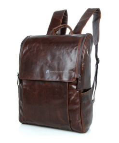 Leather Large Capacity Rucksack