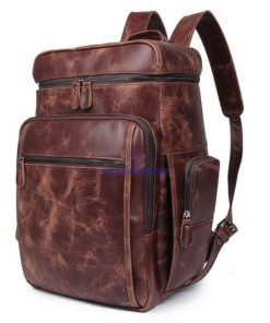Leather Rucksack Bag