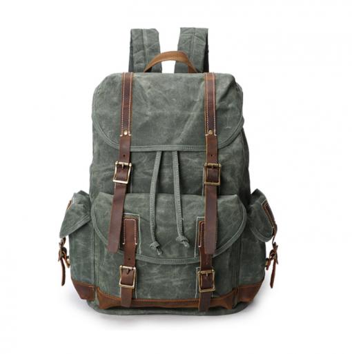 Big Canvas Backpack
