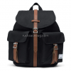 Leather Canvas Backpack