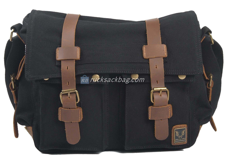 fcc54f9e8802 Men Leather Messenger Bag - Rucksack Bag