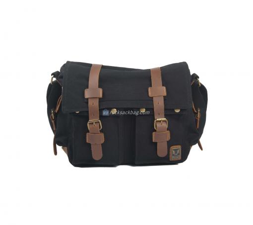 Men Leather Messenger Bag