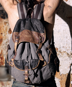 Stylish Canvas Rucksack