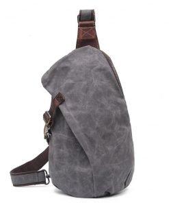 Waxed Canvas Sling Bag
