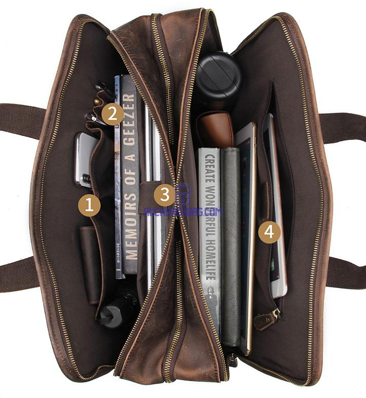 Leather Side Bags For Mens Rucksack Bag