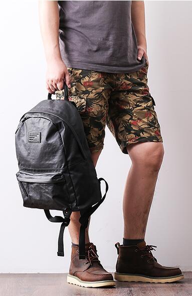 leather backpacks for men