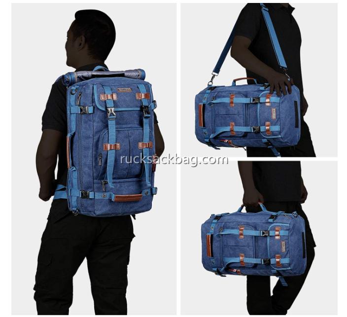 large convertible travel rucksack
